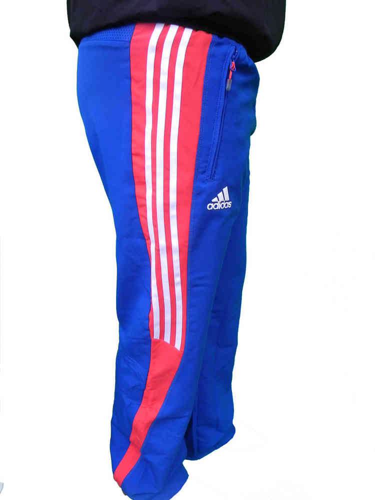 fresh styles new arrival newest collection Adidas Herren T8 FR Pres M Pant Trainingshose Blau Rot Gr. S, M