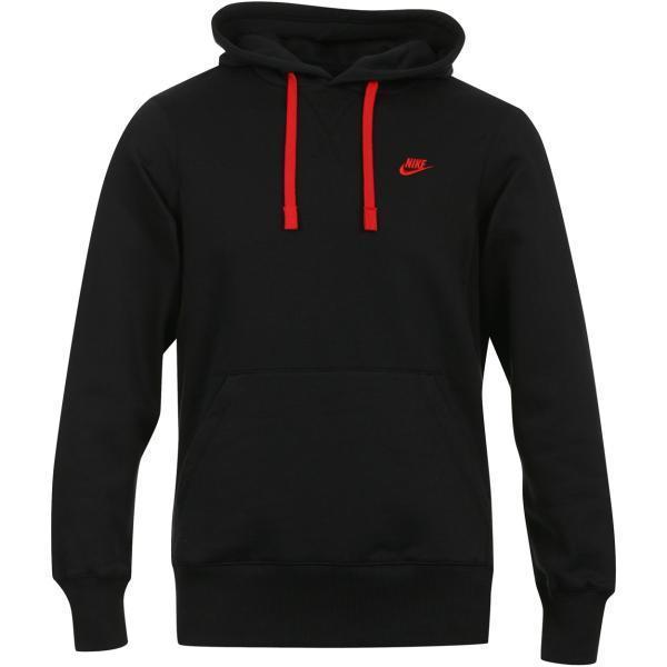nike component fleece hoodie pullover schwarz gr s m l xl. Black Bedroom Furniture Sets. Home Design Ideas