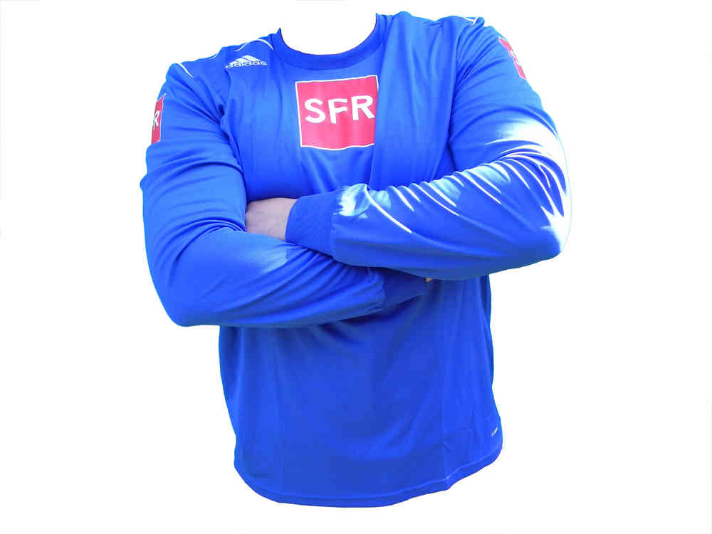 Adidas Trivela Trikot LS Langarm Blau, Gr. S XL