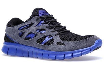 Nike Free Run+ 2 EXT, Schwarz Blau, Gr. 42,5 & Gr. 45